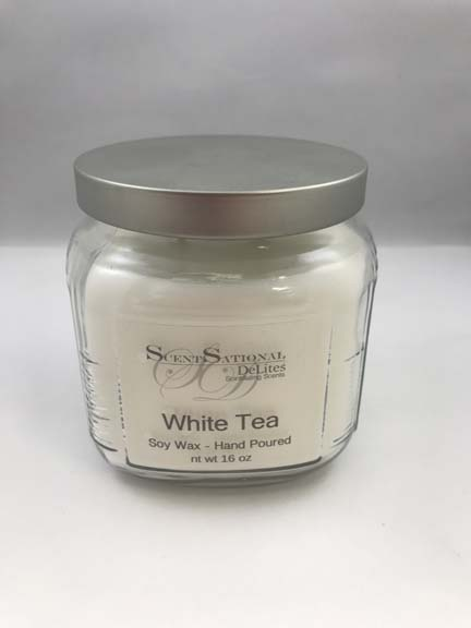 16 oz Soy Wax Cracker Jar Candle