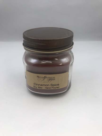 8 oz Soy Wax Jar Candle